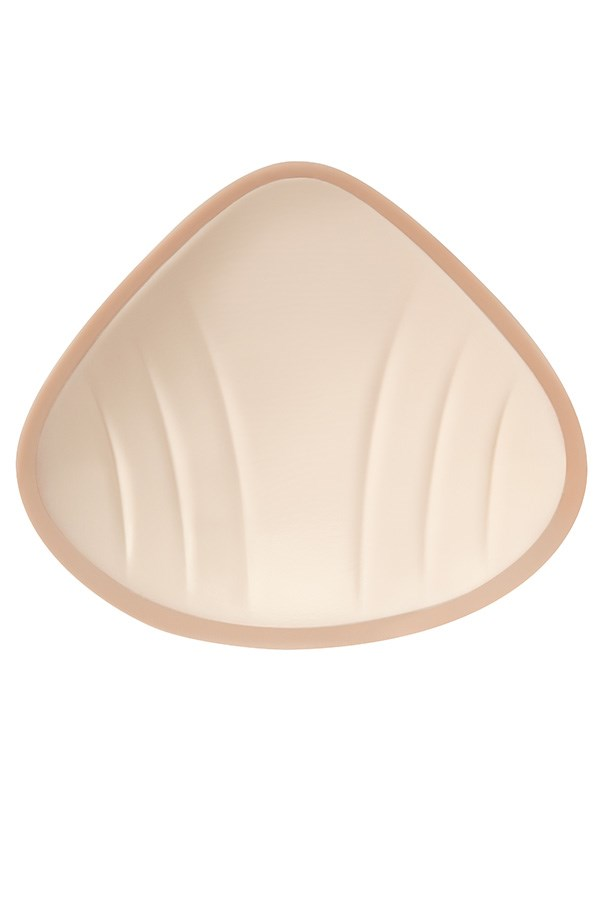 NATURA XTRA LIGHT 2SN BREAST FORM | Ivory | Front View