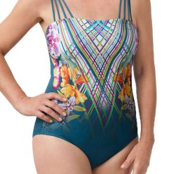 Amoena Havana One Piece Bandeau Swimsuit