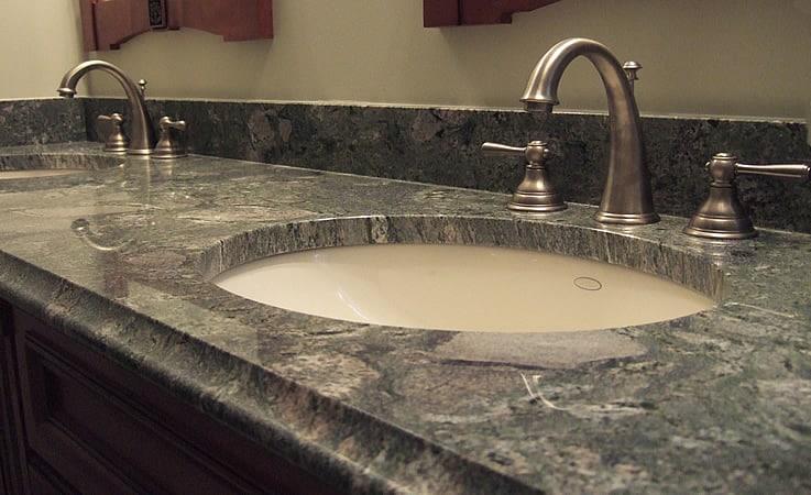 granite countertops for bathroom vanity