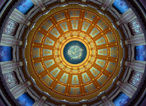 Michigan Capitol dome