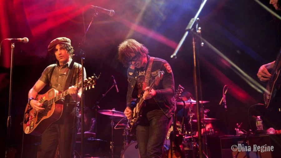 Jesse Malin and Ryan Adams at Bowery Ballroom 12-29-15