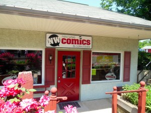 New Wave Comics storefront