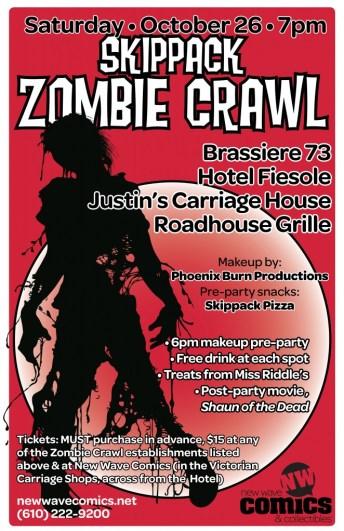zombie crawl poster