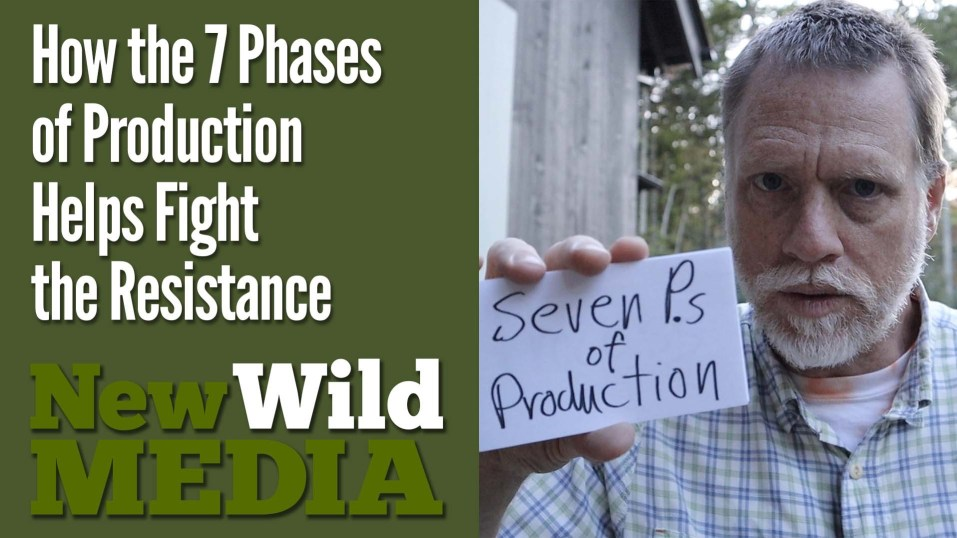 How the 7 Phases of Production Helps Fight the Resistance