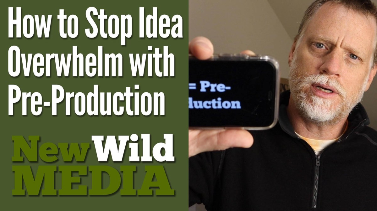 How to Stop Idea Overwhelm with Organized Pre-Production