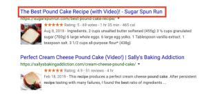 title tag optimization - google SERP