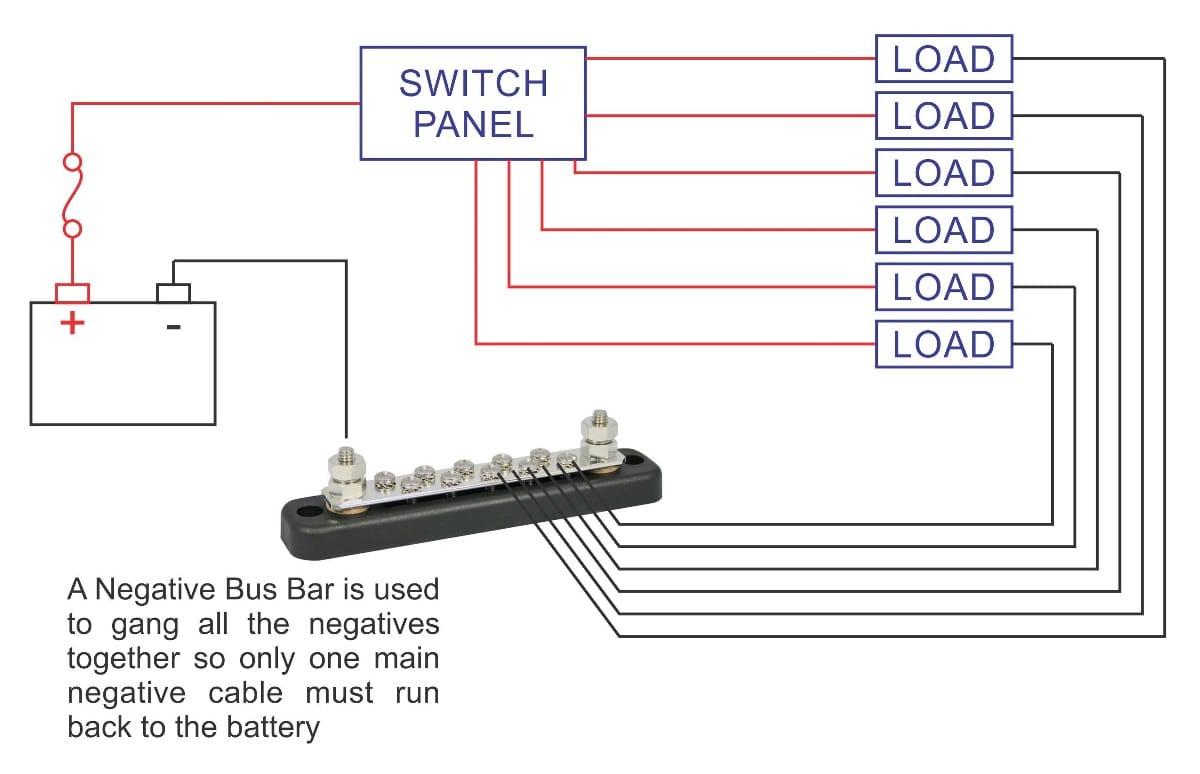 Bus Bar Wiring diagram?resize\=665%2C429\&ssl\=1 boat ammeter wiring diagram wiring diagram shrutiradio DC Amp Meter Wiring Diagram at bakdesigns.co