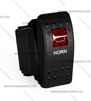 Horn Rocker Switch | Carling Contura II | Illuminated | Accessory
