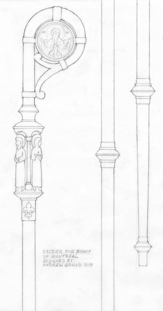 crozier drawing