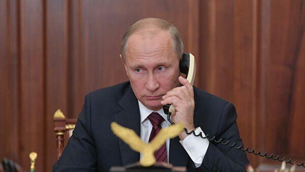 Путин провел телефонный разговор с президентом Финляндии