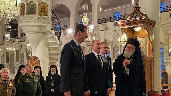 В Госдуме назвали визит Путина в Сирию уместным шагом