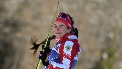 Непряева выиграла спринт на этапе Кубка мира по лыжным гонкам