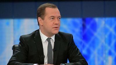 """Медведев пошутил о """"законе сохранения трех Дмитриев Николаевичей"""""""