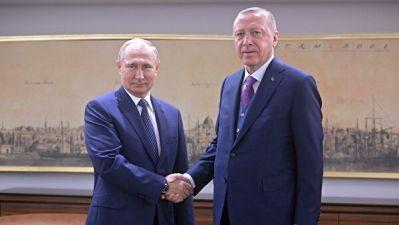 Путин: Турция и РФ показывают пример сотрудничества на благо народов