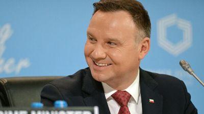 Президент Польши обвинил Россию в агрессии против Украины