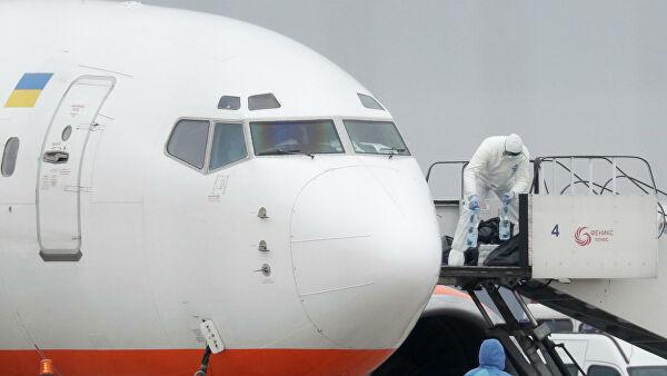 Самолет с эвакуированными из Китая украинцами прибыл в Харьков