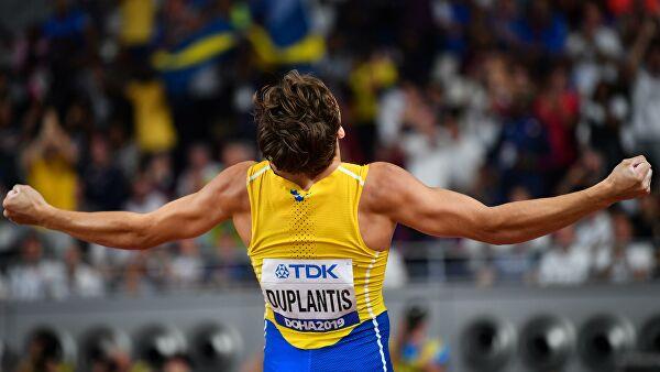 Швед Арман Дюплантис побил мировой рекорд в прыжках с шестом