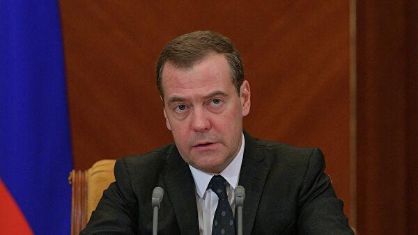 Медведев вручил благодарности правительства российским парламентариям