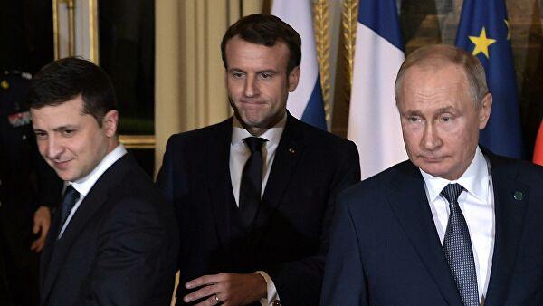 """Страны """"нормандской четверки"""" обсудят дату саммита в Берлине"""