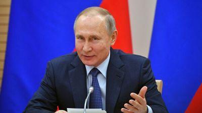 """Путин поприветствовал участников актерской премии """"Фигаро"""""""
