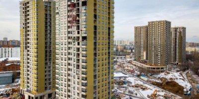 В жилом квартале на юге Москвы полностью возведены монолитные конструкции шести корпусов