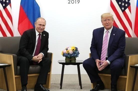 Трамп рассказал о своей симпатии к Путину