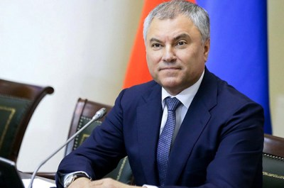 Володин поздравил с юбилеем Никиту Михалкова