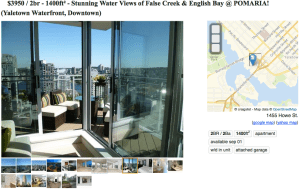 Luxury Apartment 1400 sq ft water views