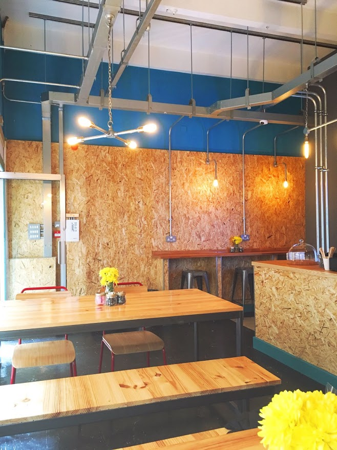 Inside Bank Street coffee