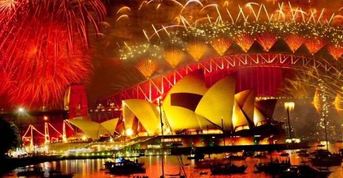 2018 NYE Fireworks In Sydney