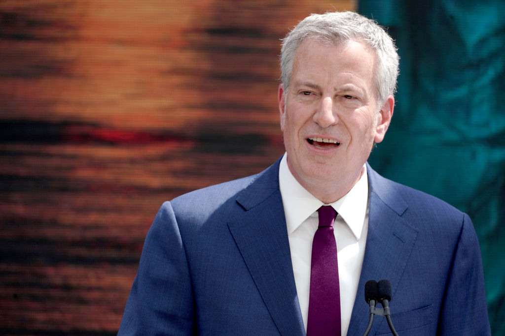 Voters Left Laughing At Mayor De Blasio After Video Problem Makes 2020 Candidate Sound Like 'Chipmunk'