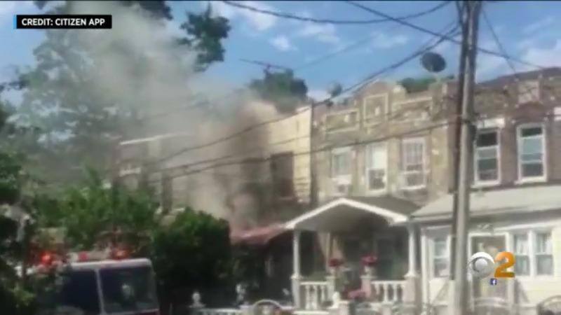 Woman, 7-Year-Old Girl Killed In Queens Fire