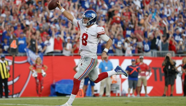 Jones Spectacular In Debut, Giants Stun Buccaneers