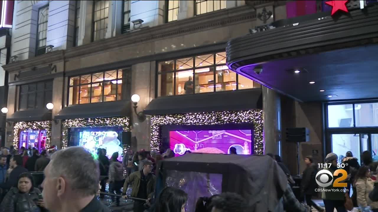 Macy's Unveils Iconic Holiday Window Display In Special Ceremony