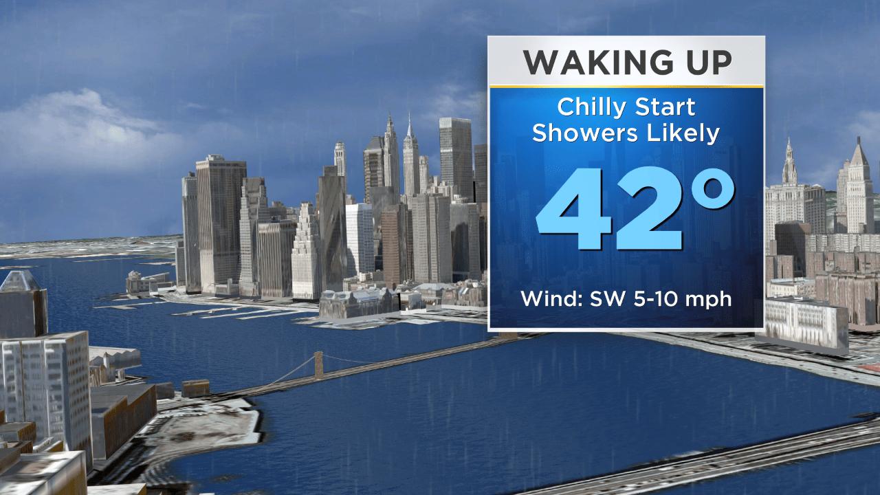 New York Weather: CBS2 12/9 Monday Morning Forecast