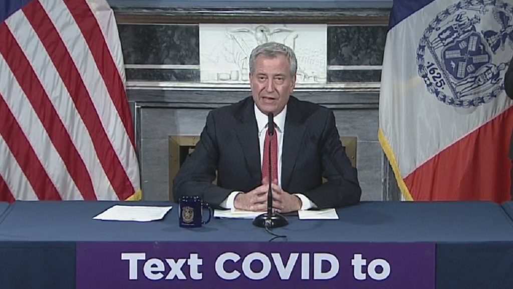 Coronavirus Update: De Blasio Says NYC Has Enough Medical Supplies To Get Through Next Week, Except For Ventilators