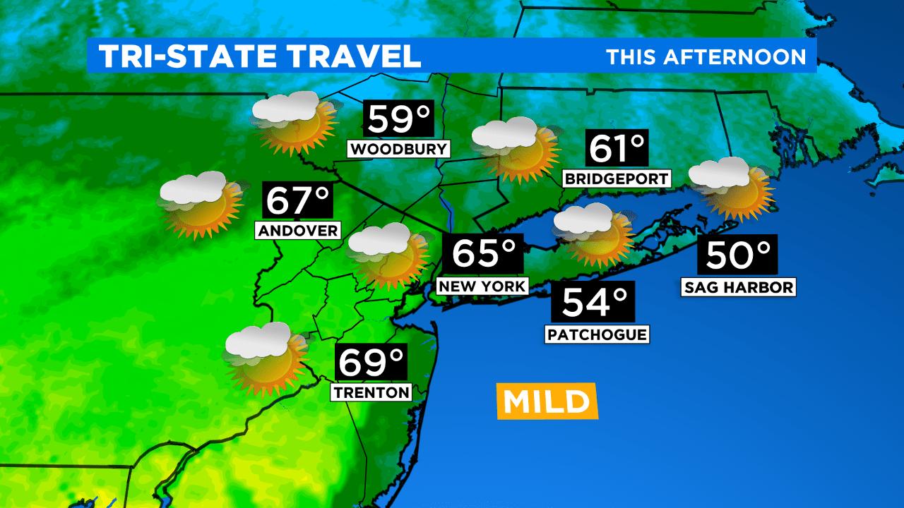 New York Weather: CBS2's 4/8 Wednesday Morning Forecast
