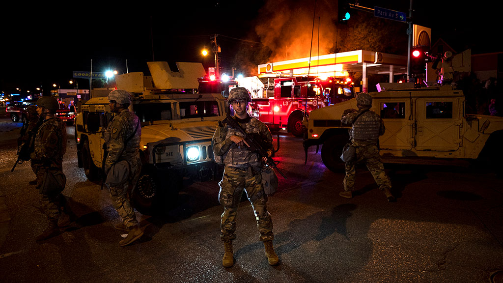 Minnesota National Guard Mobilized As Protests Over George Floyd's Death Continue