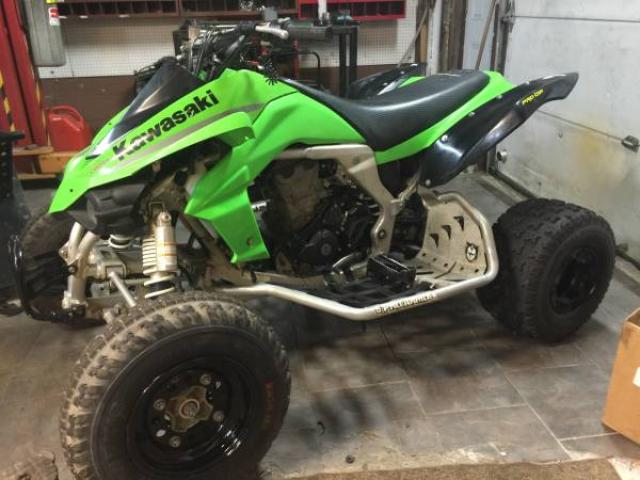 Kawasaki Kfx 450r Fuel Injected Atv Clean For Sale
