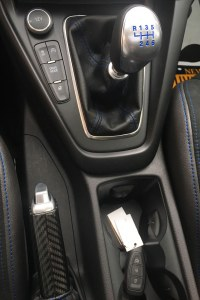 2018 Ford Focus RS manual shifter