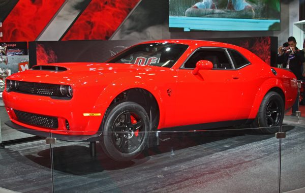2018 Dodge Demon at 2017 New York International Auto Show