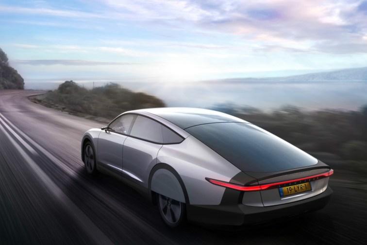 Lightyear One solar-powered car