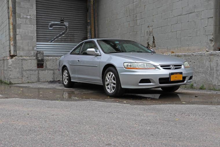 2002 Honda Accord V-6 coupe at newyorkars.com