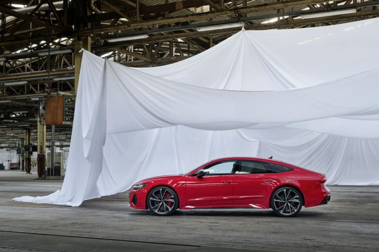 The 2020 Audi RS 7 Sportback debuted at the Frankfurt Motor Show