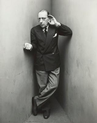 Irving Penn, Igor Stravinsky, 1948