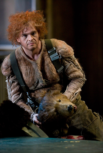 Lance Ryas as Siegfried. © Bayreuther Festspiele GmbH / Jörg Schulze.