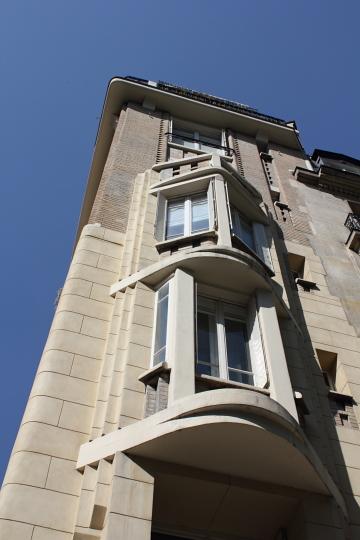 Immeuble Houyvet (1927). Photo © 2012 Alan Miller.