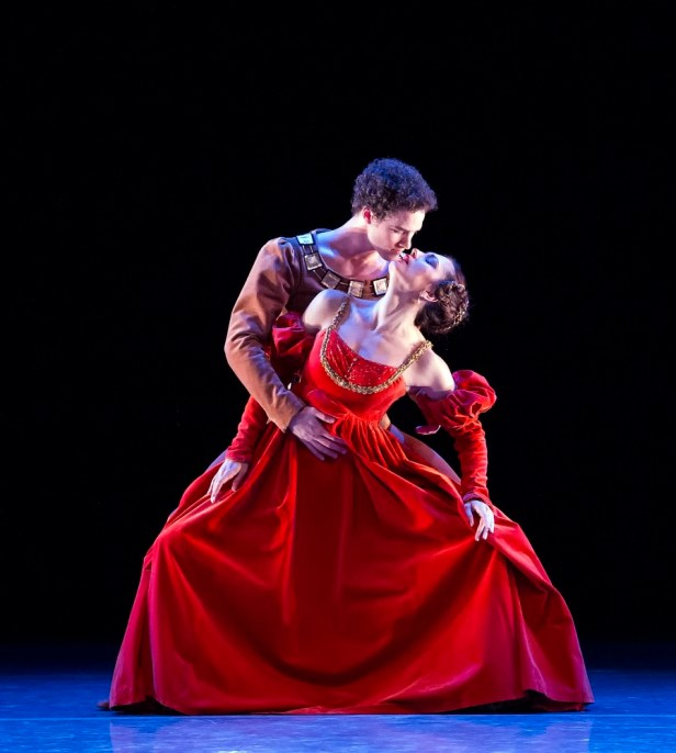Cory Stearns and Veronika Part in 'The Moor's Pavane.' Photo Courtesy American Ballet Theatre.