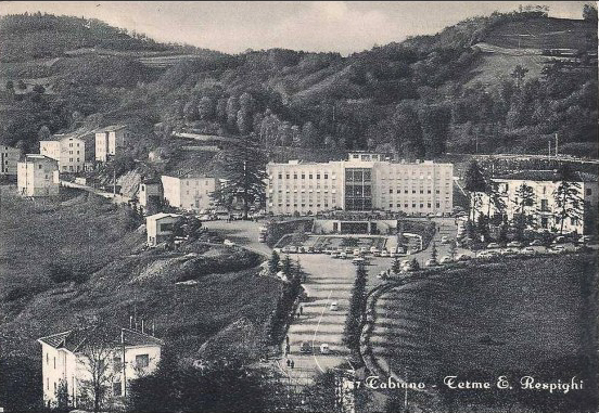 """The Terme """"E. Respighi"""" at Tabiano in its glory days."""