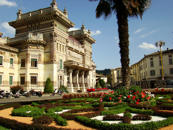 The terme at Salsomaggiore
